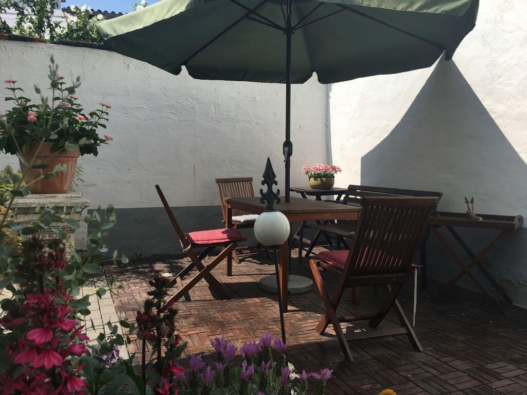 Ferienhaus-UNI-Koblenz Terrasse