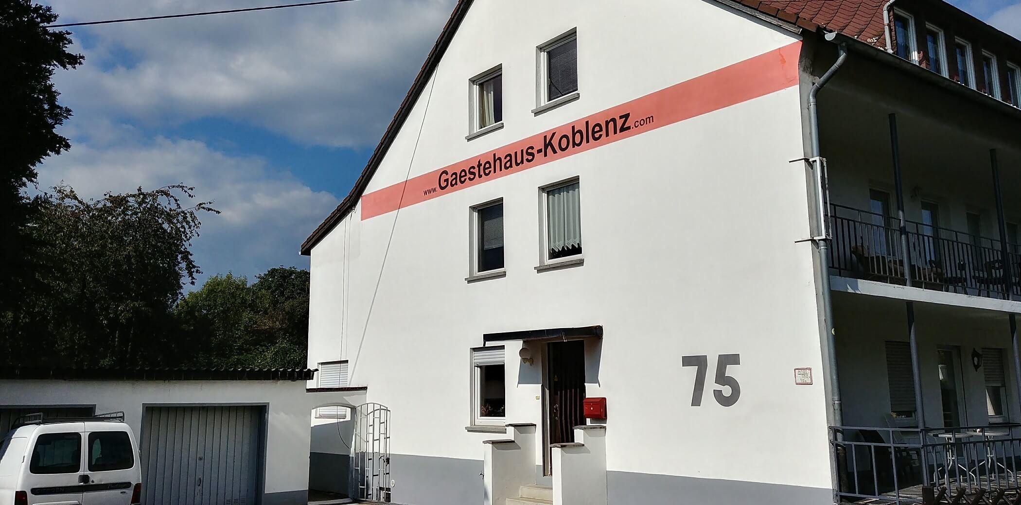 Gästehaus Koblenz - Außenansicht