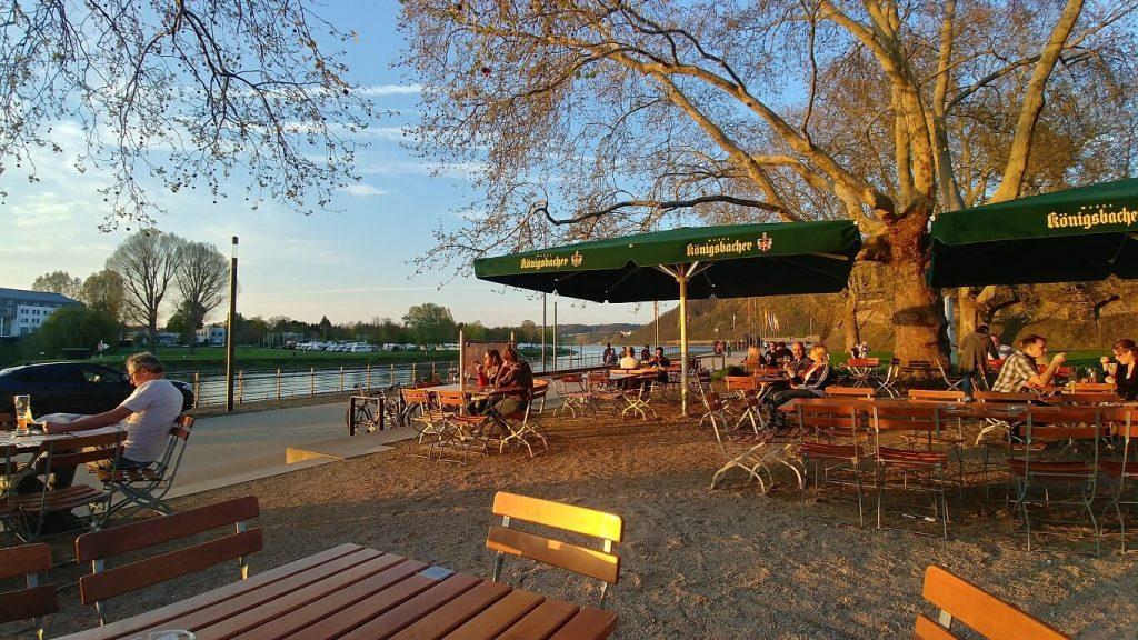 Koblenz und Umgebung Biergarten