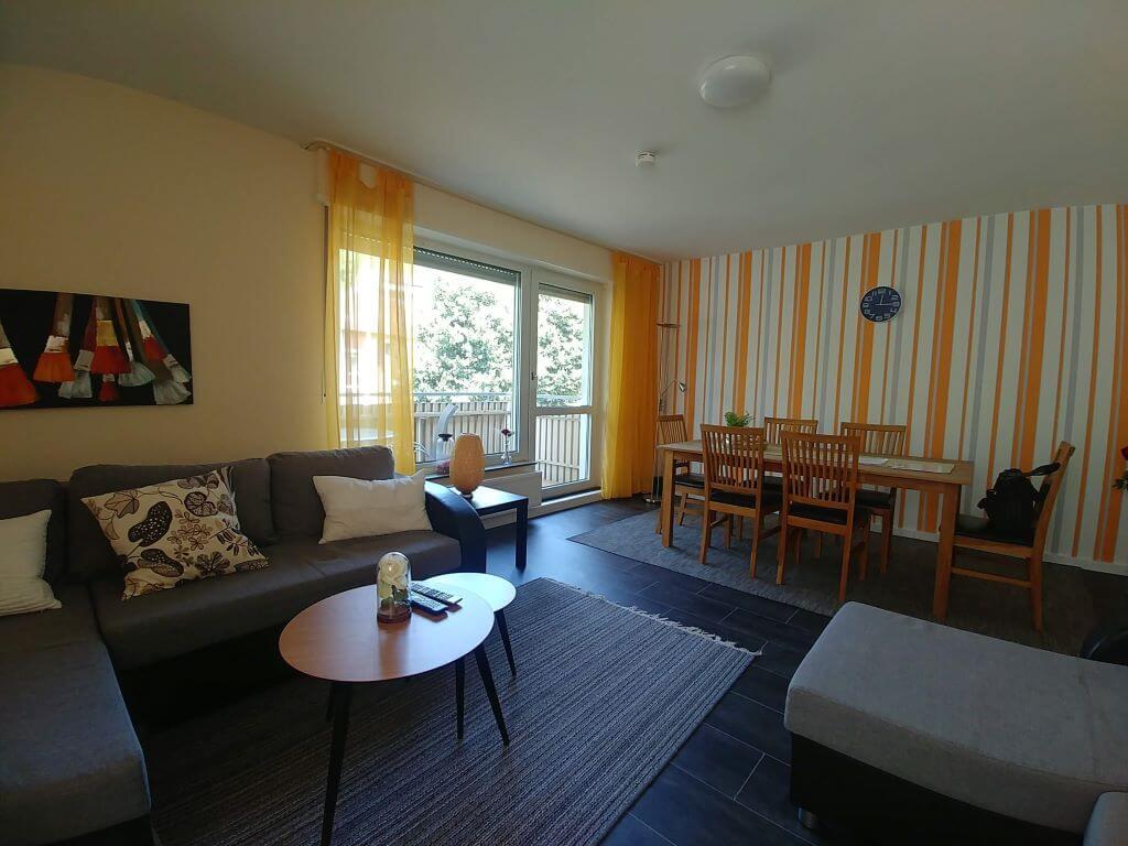 Ferienwohnungen Koblenz-City - Wohnzimmer