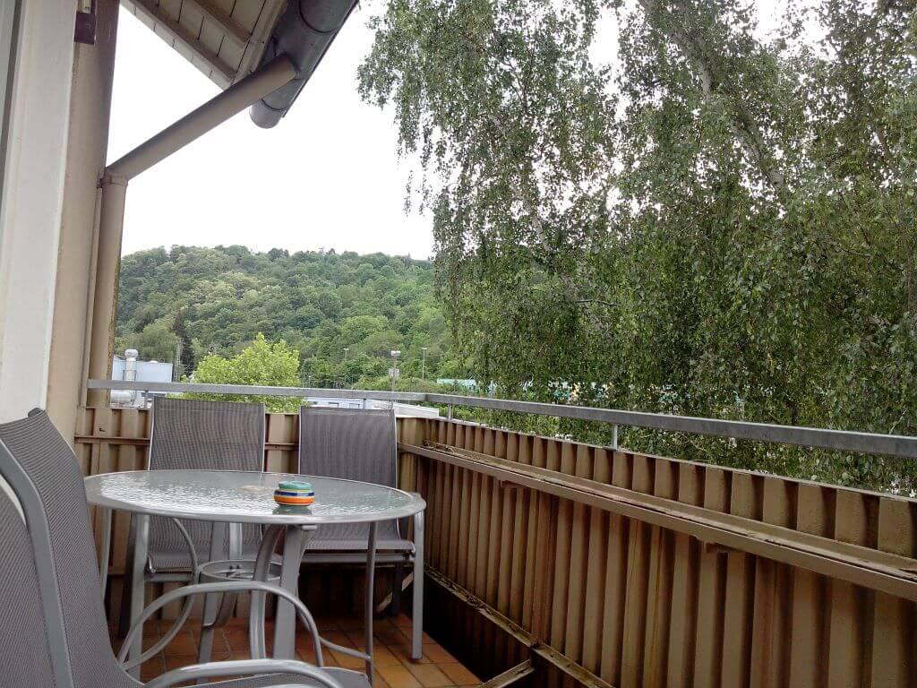 Ferienwohnungen Koblenz-City - Balkon
