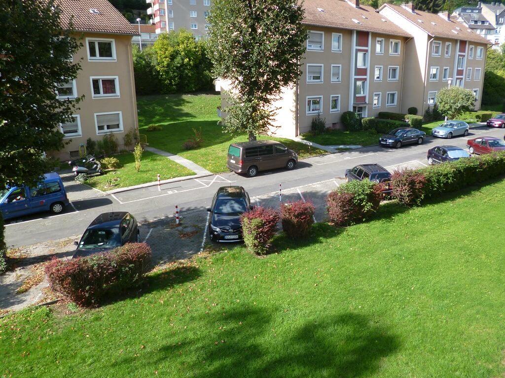 Ferienwohnungen Koblenz-City Blick Balkon